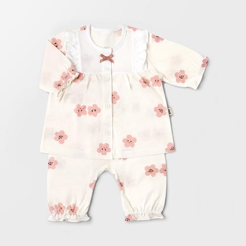 Cherry Blossom Jacquard Summer PJ Set