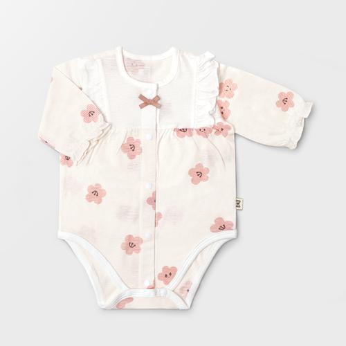 Cherry Blossom Jacquard Summer Bodysuit