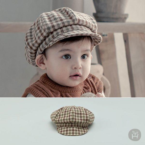 Loen Baby Newsboy Cap